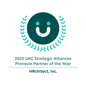 HRchitect 2020 Pinnacle Partner Award